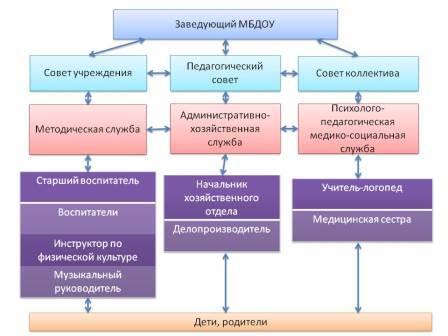 структура управления ДОО